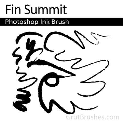 Fit Summit Photoshop Ink Brush