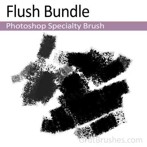 Photoshop Specialty brush 'Flush Bundle'