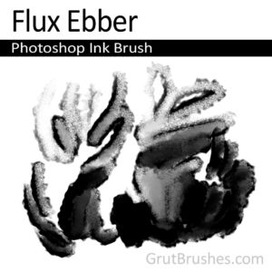 'Flux Ebber' Photoshop Ink Brush for digital artists