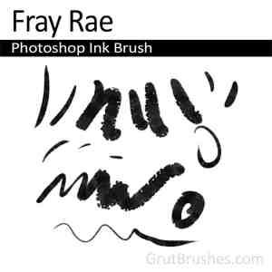 Photoshop Ink Brush for digital artists 'CFray Rae'