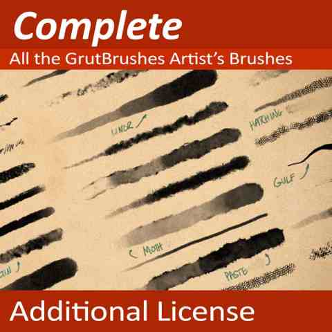 GrutBrushes-ArtBrushes-Photoshop-brushes-collections-Additional-Licenses-1