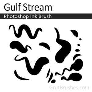 Gulf Stream Photoshop digital ink brush for digital painting