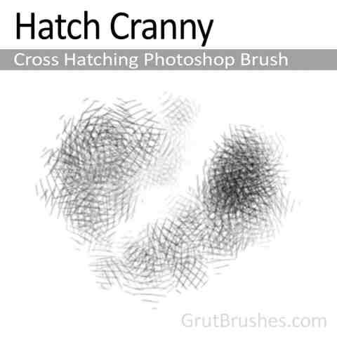'Hatch Cranny' Photoshop Cross Hatching Brush