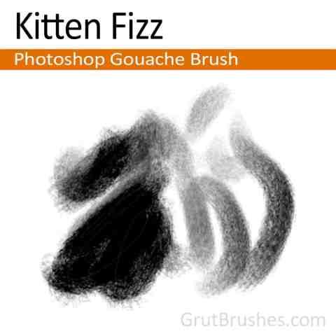 Photoshop Gouache Brush 'Kitten Fizz'