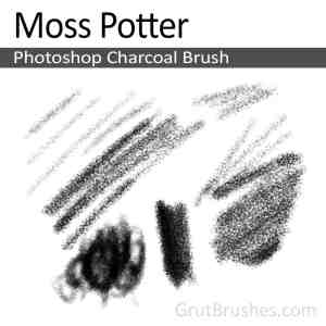 Moss Potter - Photoshop Charcoal Brush