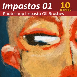 Photoshop Impasto oil Paint