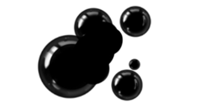 ink droplet Photoshop brush