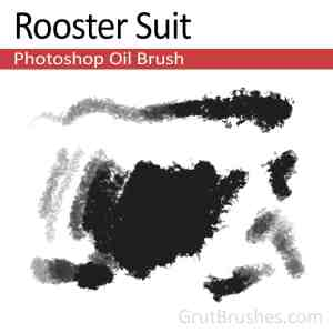 Painting with the 'Rooster Suit' Photoshop Oil Brush toolset