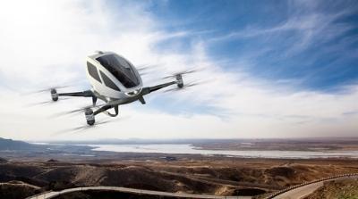 Личный транспортный дрон Ehang 184