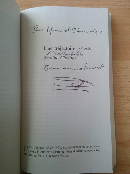 Antoine Chainas une trajectoire