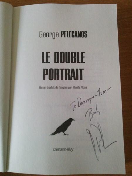 George Pelecanos double portrait