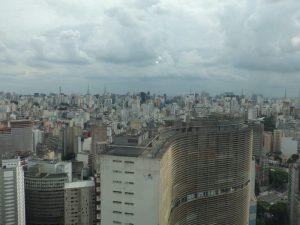 78. Utsikt over byen med Edificio Copan i forgrunnen