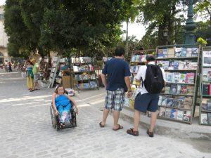 214. Bruktbokmarked på Plaza de Armas