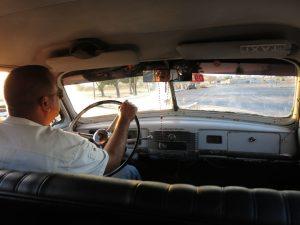 289. Sjåføren i Cadillacen