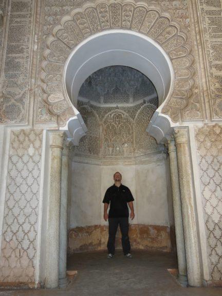 126. Jo på Ali Ben Youssef Medersa