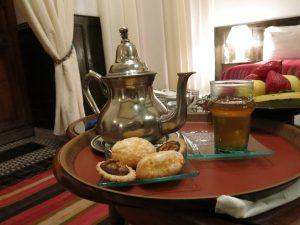 6. Mint te og cookies til velkomst