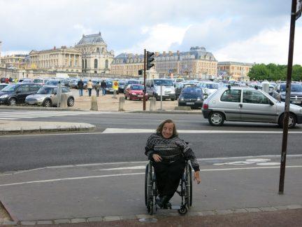 3. Versailles slott nærmer seg