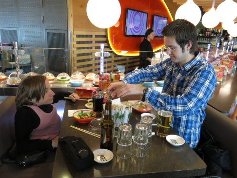 4. Sushi på Gardermoen