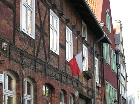 55. Polsk flagg