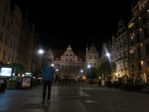 61. Torget by night