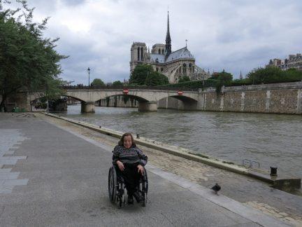 94. Seinen med Notre Dame i bakgrunnen