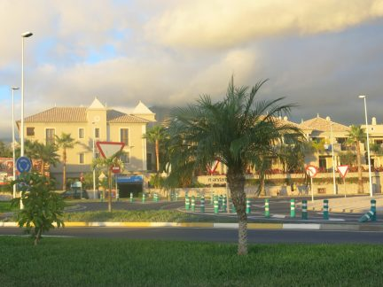 53. Hotell Marylanza i solnedgang