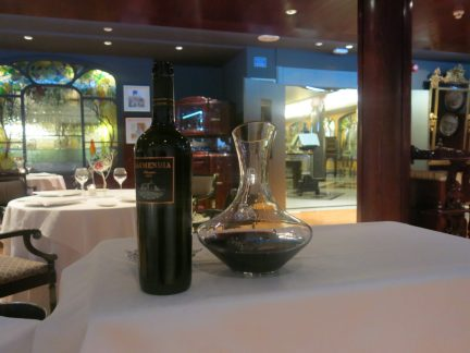 83. Vin på gourmetrestaurant