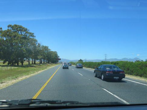 1. 26.12.2013 - On the road på vei til Robertson