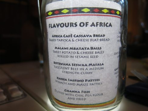118. Flavours of Africa 1