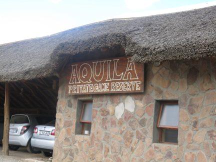 8. Vi er kommet til Aquila Private game reserve