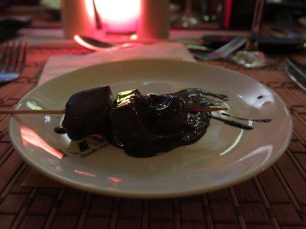 89. Apreitif - frukt med sjokolade