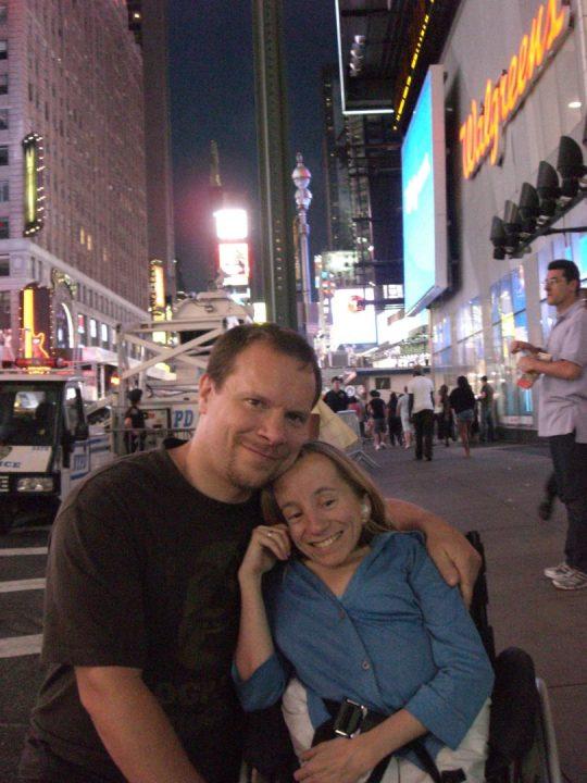 22. Jo og Gry på Times Square