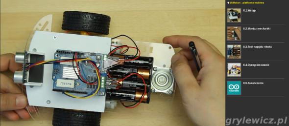 Kurs Arduino - robot