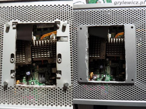Otwór na dysk w HP T5720