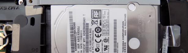 Dysk Toshiba w laptopie Acer
