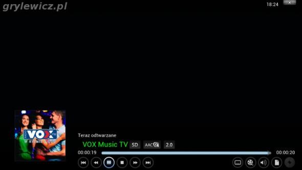 Odtwarzanie IPTV na LeMedia