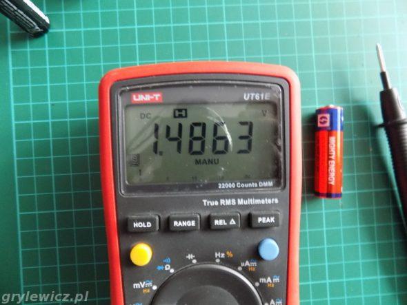 Bateria AA 1,5V