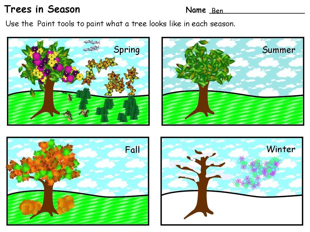 Season Of The Year For Kindergarten Shelter