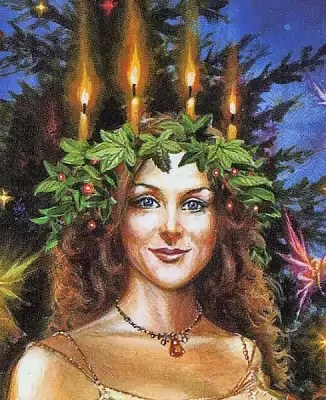 Shop Lady Of Lights Greeting Card Free Shipping On