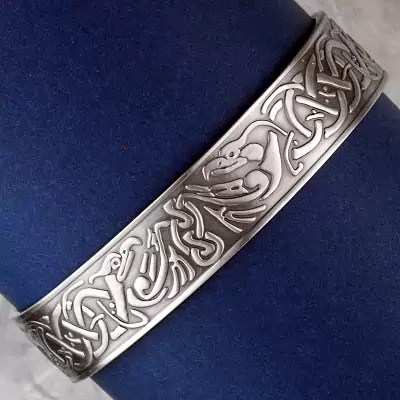 Shop Celtic Phoenix Magnetic Bracelet  Antique Silver  Free shipping on orders over 50 at