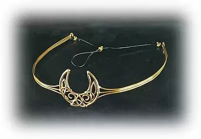 Shop Bronze Crescent Moon Crown  Free shipping on orders