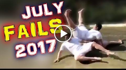 FAILS complacent || July 2017 || MonthlyFails