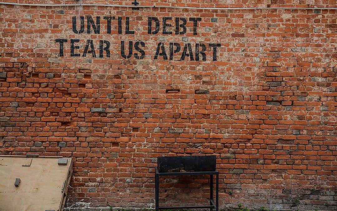 debt blows