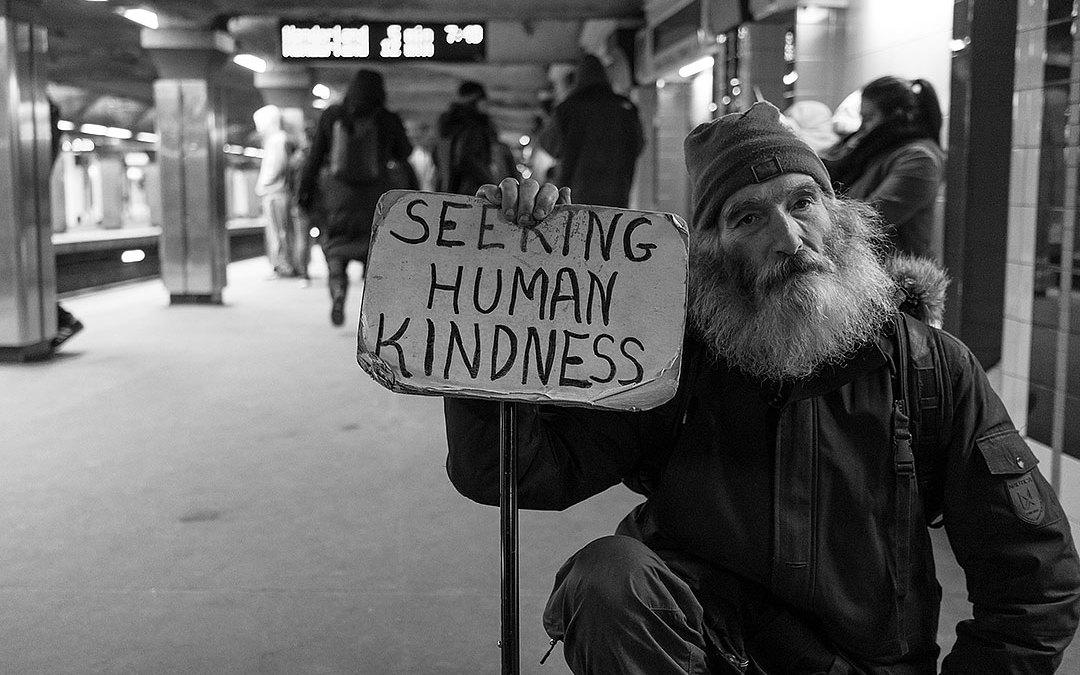 a little human kindness