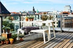 COPENHAGEN Cane-line. Stół i ławka. City Furniture