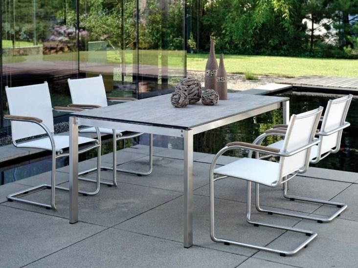 MALI krzesła ze stołem Silverstar Tundra Grey