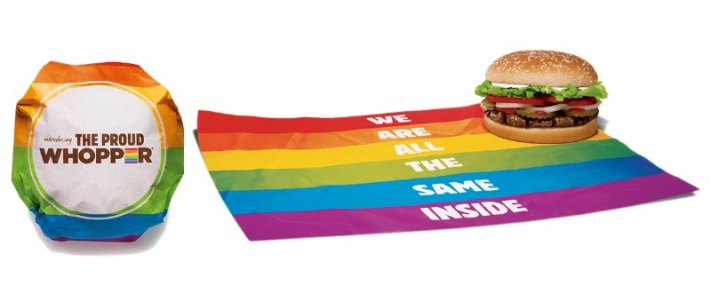 Tęczowy Whooper | Marketing LGBT