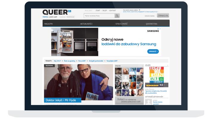 Magazyny i serwisy LGBT+