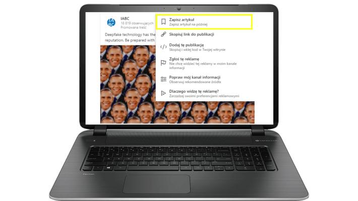 Funkcje LinkedIn