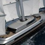Супер-яхта Falcon — самая необычная мега-яхта на планете